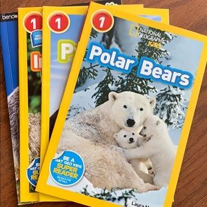 Other - Four National Geographic/animals books